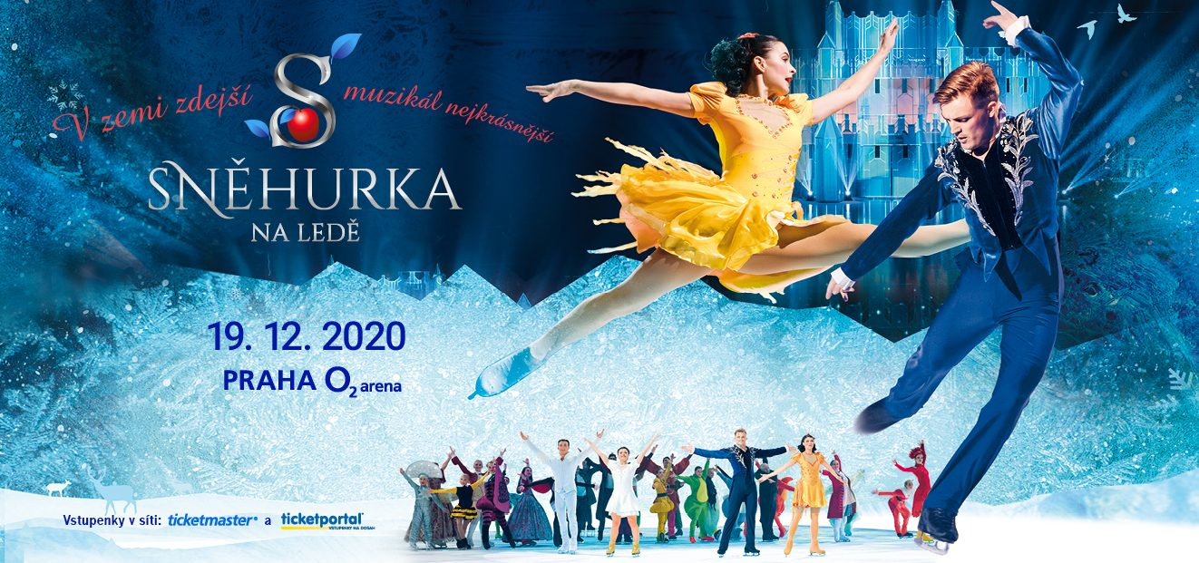 Muzikál Sněhurka na ledě se kvůli trvajícímu omezení kulturních akcí19. prosince 2020 vO2 areně neuskuteční