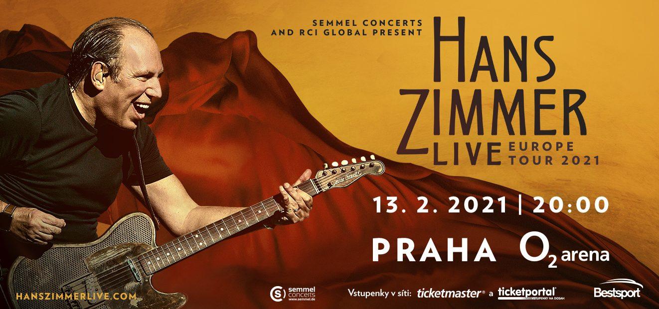 Hans Zimmer se vroce 2021 osobně vrátí do pražské O2 areny, kde živě uvede své celosvětově známé kompozice