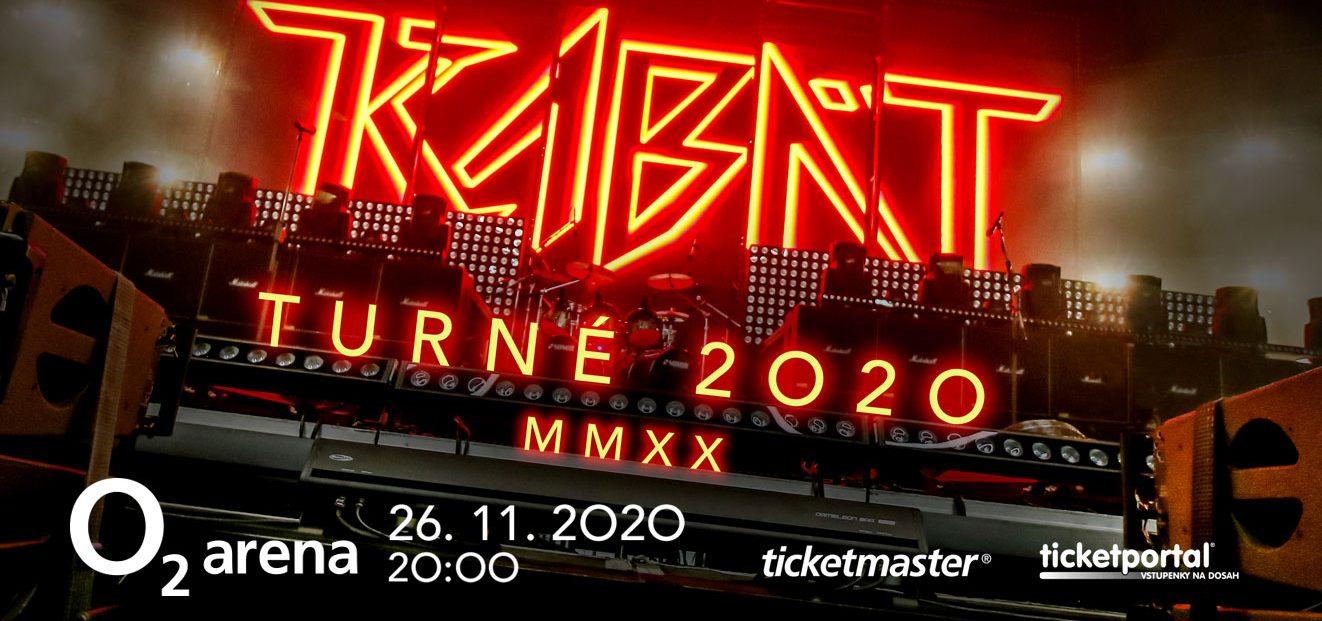 The Kabát 2020 tour has been postponed to autumn 2021