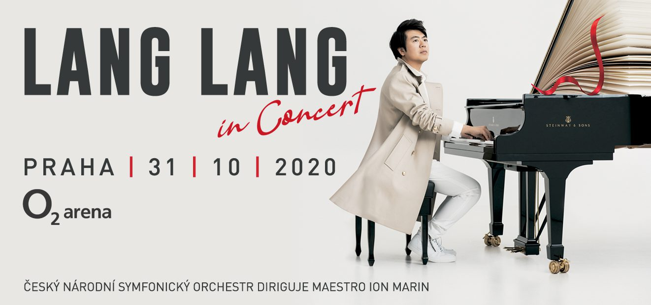 Lang Lang – new concert date 30. 4. 2022. Already purchased tickets remain valid