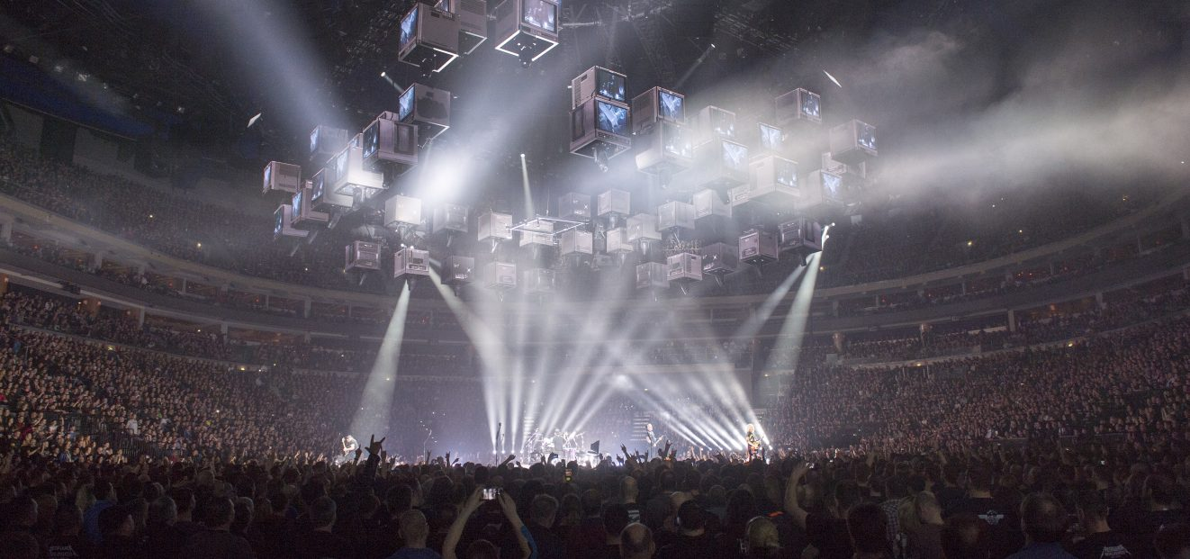O2 arena has a record of attendance – concert of band Metallica was seen by 20 174 fans