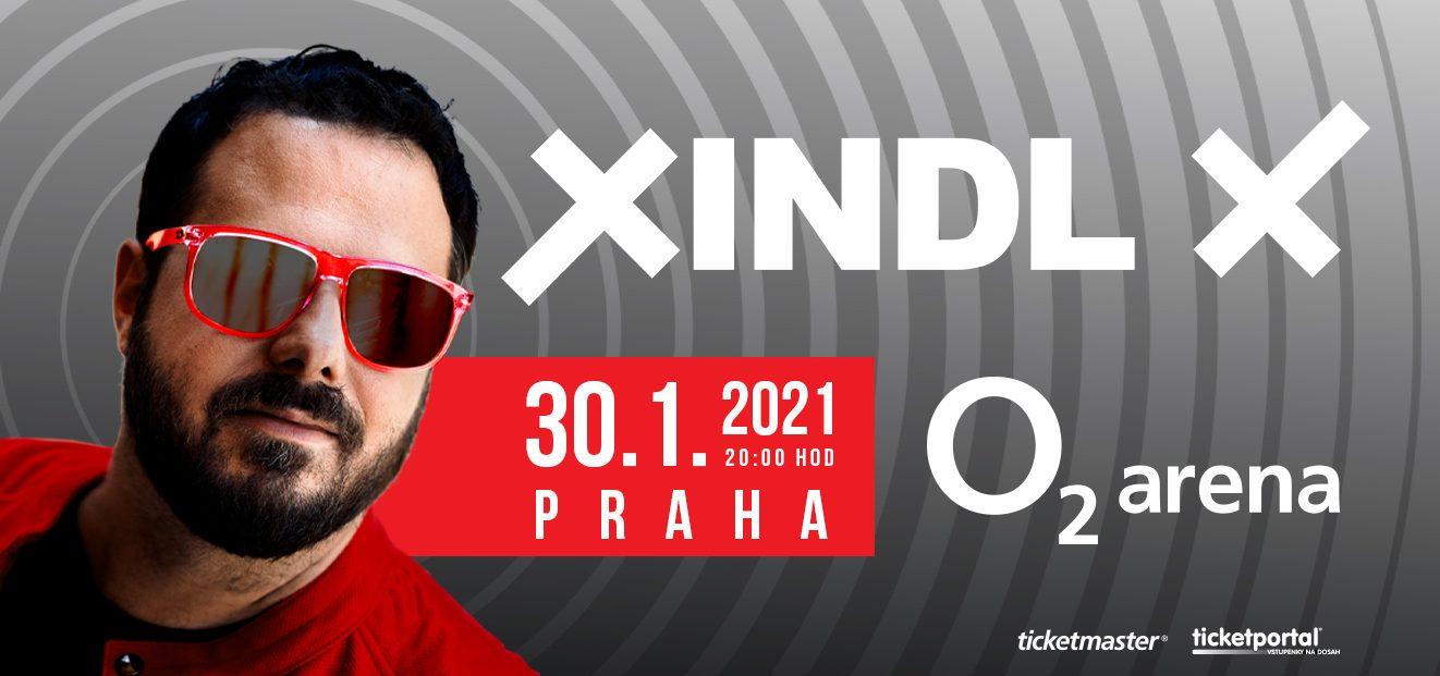 Xindl X po vyprodaném Foru Karlín míří rovnou do pražské O2 areny!