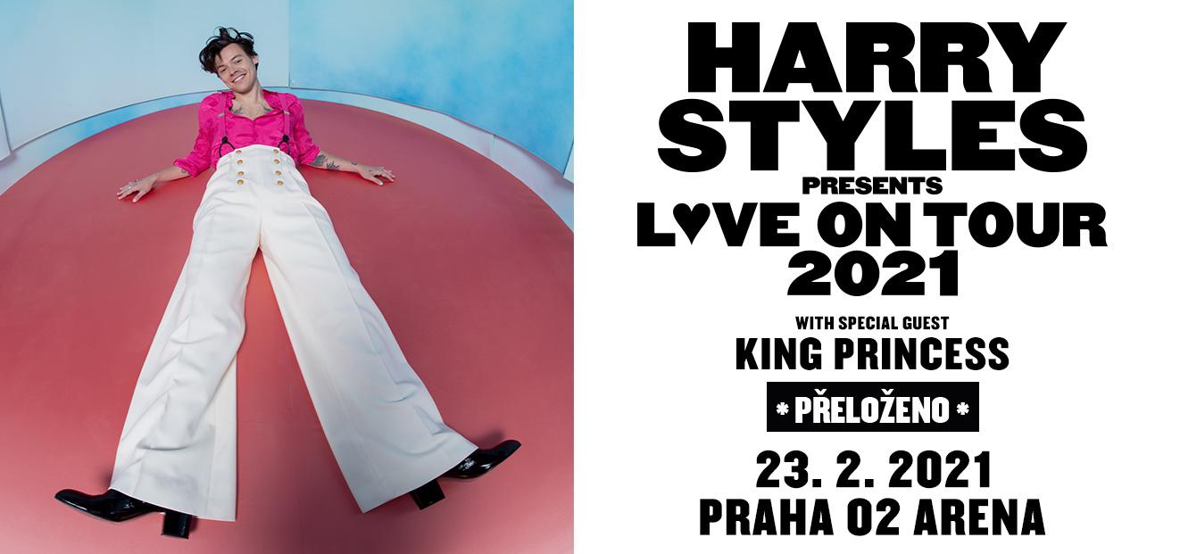 Harry Styles překládá svůj pražský koncert na 23. února 2021