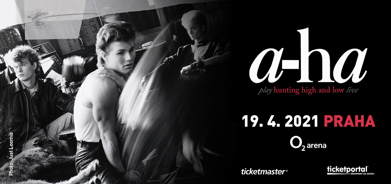 The first Czech concert of legendary band A-ha is rescheduled. They will celebrate 35 years of the hit Take On Me at O2 arena in April 2021
