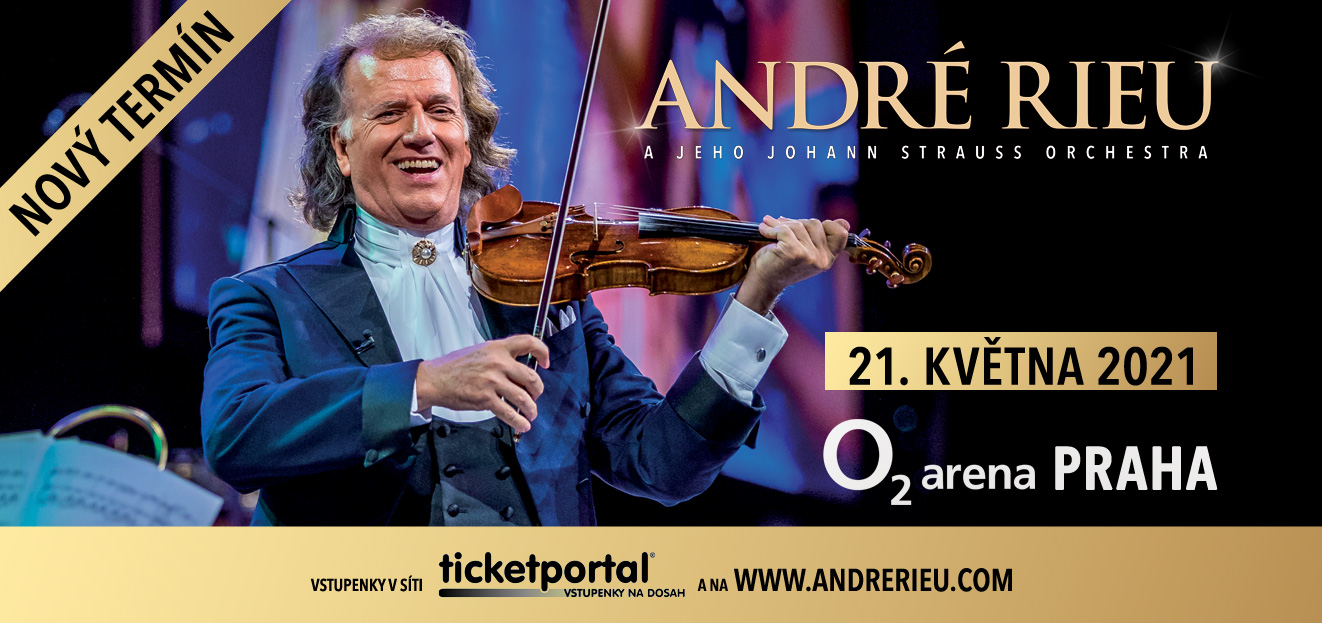 André Rieu's concert at the Prague´s O2 arena will not take place this year. The Dutch violinist will arrive in May 2021