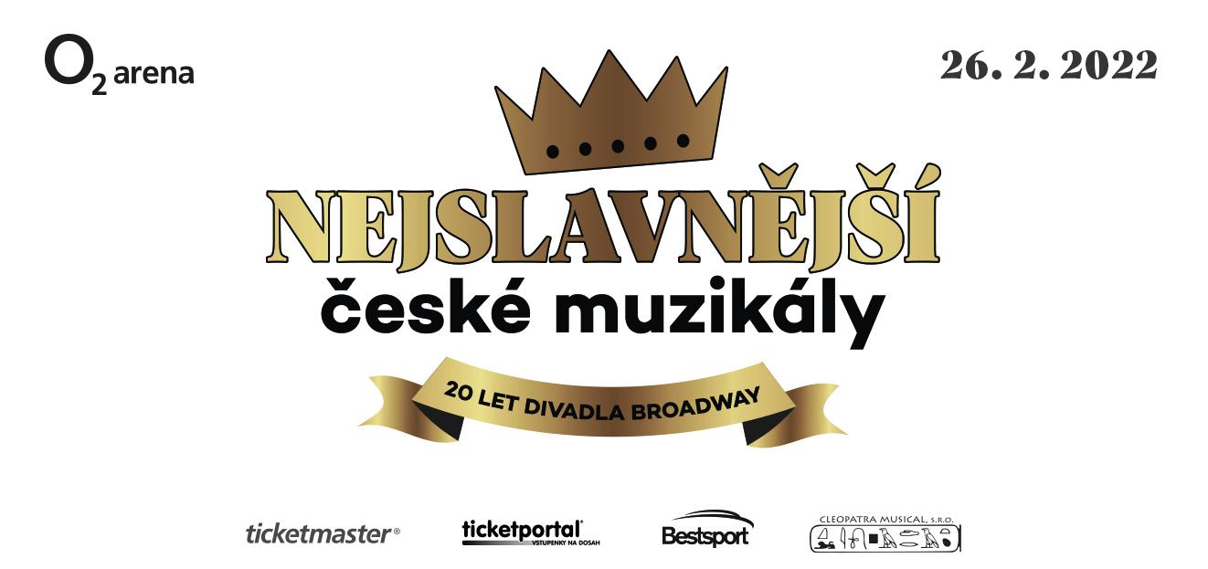 Divadlo Broadway oslaví 20. narozeniny velkolepým koncertem 26. 2. 2022 v pražské O2 areně
