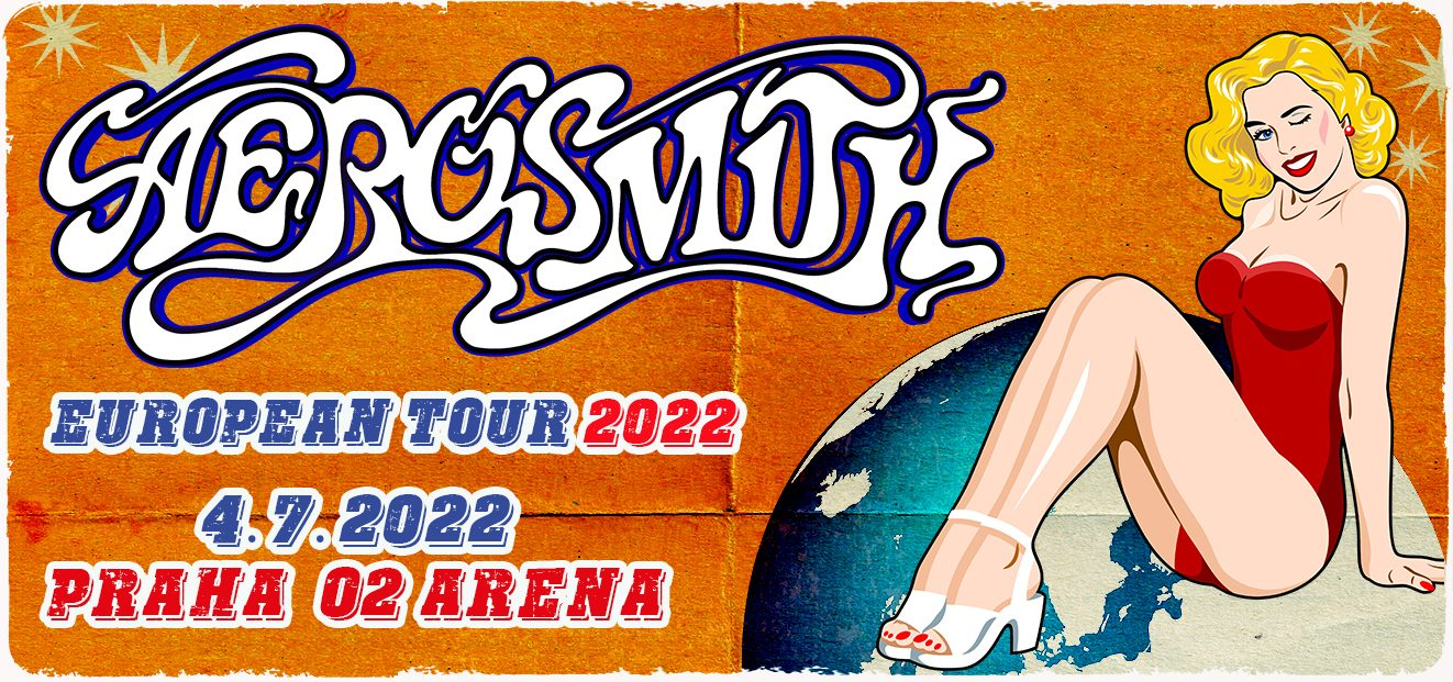 The AEROSMITH concert will take place in the new date of 4. 7. 2022 at Prague's O2 arena