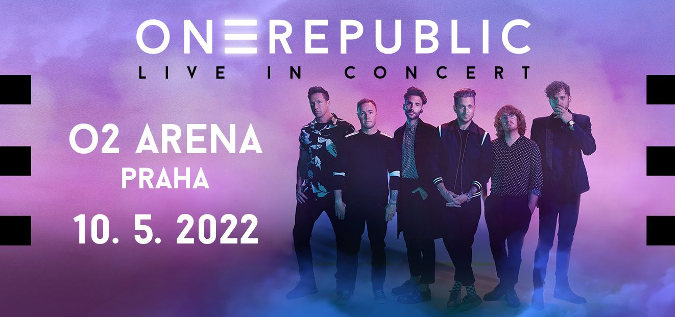 The ONEREPUBLIC concert will take place in the new date of 10.5.2022 at Prague's O2 arena