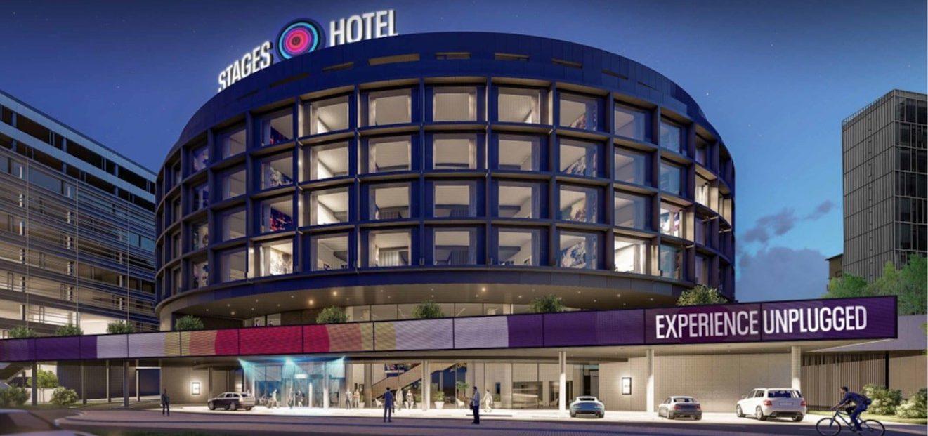 Nový STAGES HOTEL Prague u O2 areny bude součástí řetězce Marriott