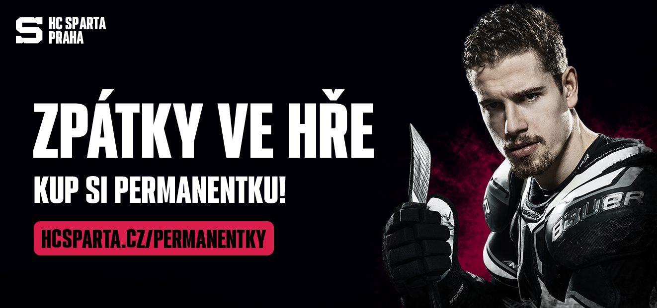 Pre-sale of permanent tickets HC Sparta Praha for the season 2020/2021 starts