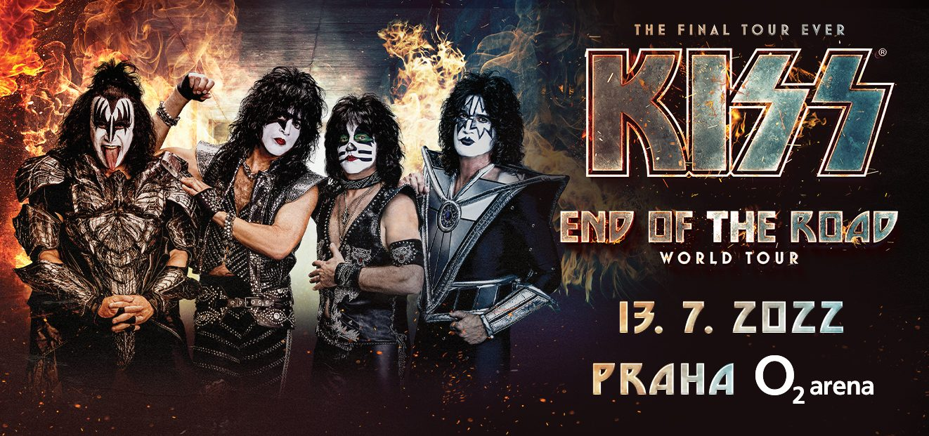 KISS concert will take place on the new date of July 13th, 2022 in Prague's O2 arena