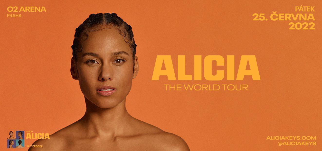 Koncert Alicia Keys se uskuteční v novém termínu dne 25. 6. 2022 v pražské O2 areně
