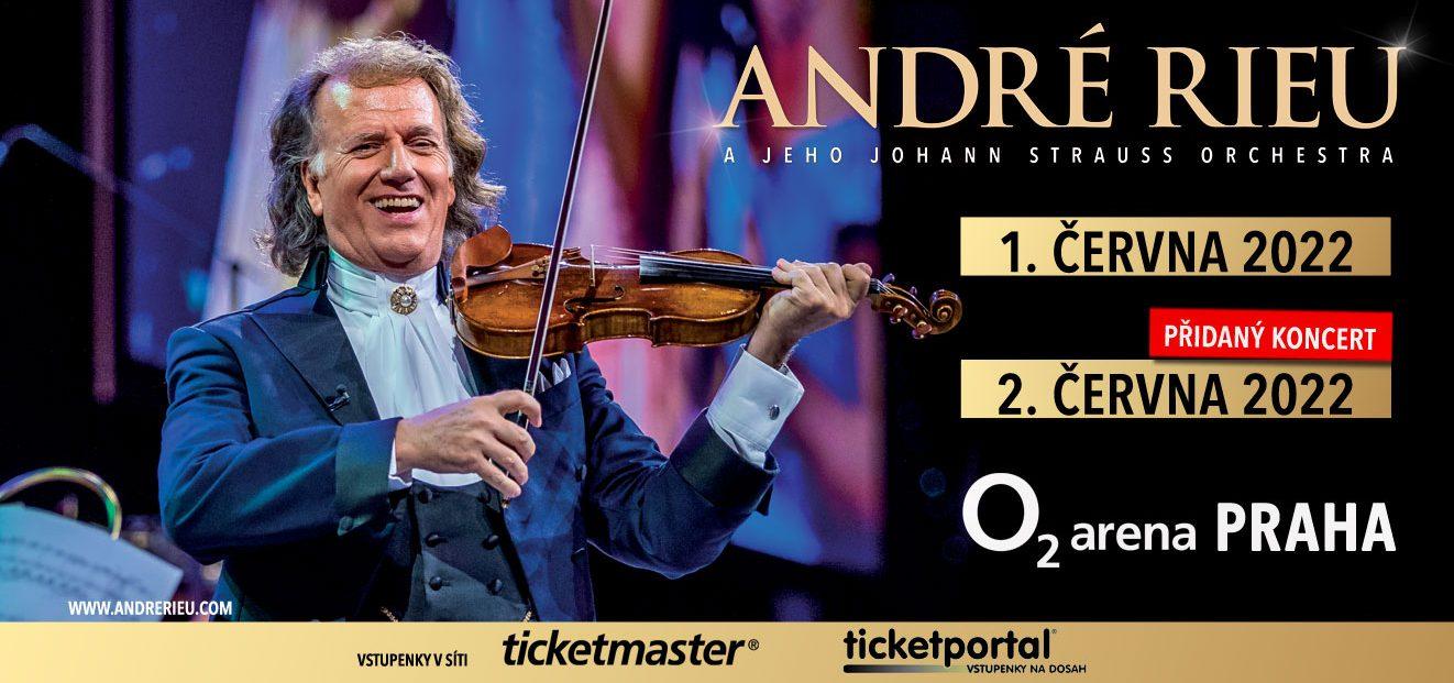 André Rieu adds an additional concert in Prague, O2 arena