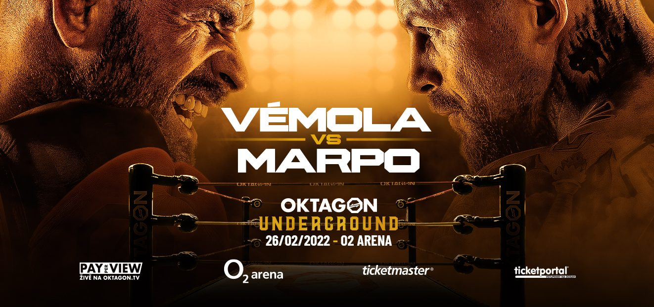 VÉMOLA vs. MARPO in the box! OKTAGON UNDERGROUND is heading to the O2 arena!