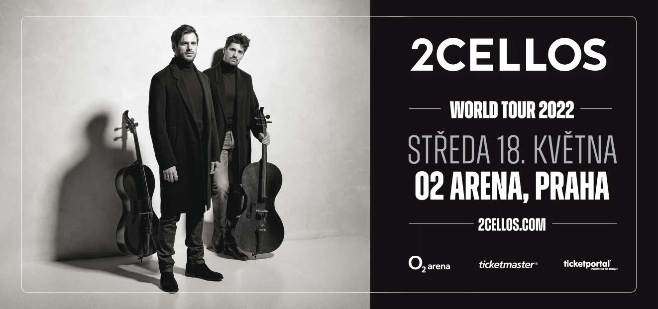 2CELLOS oznamují evropské termíny svého posledního světového turné