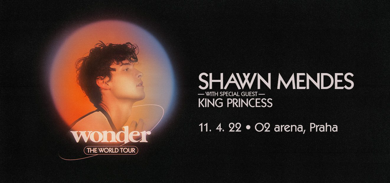 Shawn Mendes to play in Prague for the first time with King Princess as special guest